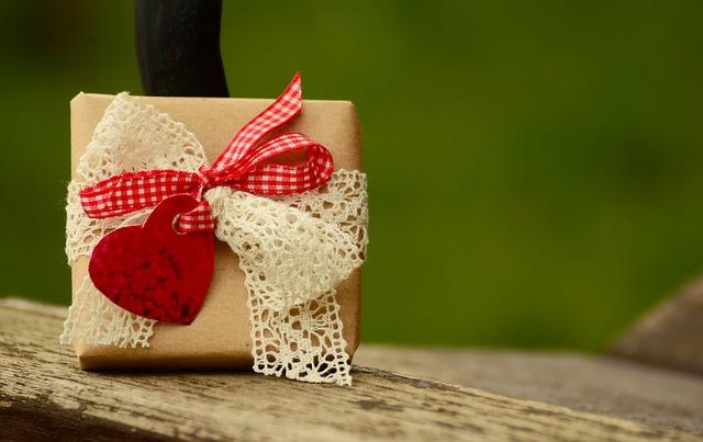 flot indpakket gave