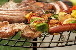 mad på grill