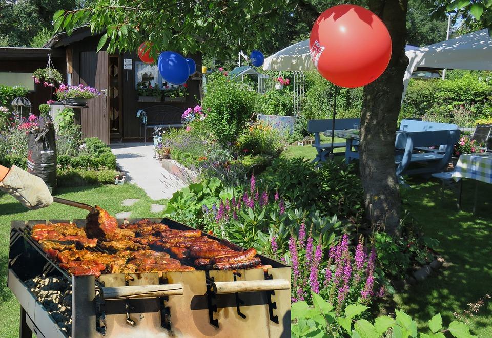 Sommerfest i haven