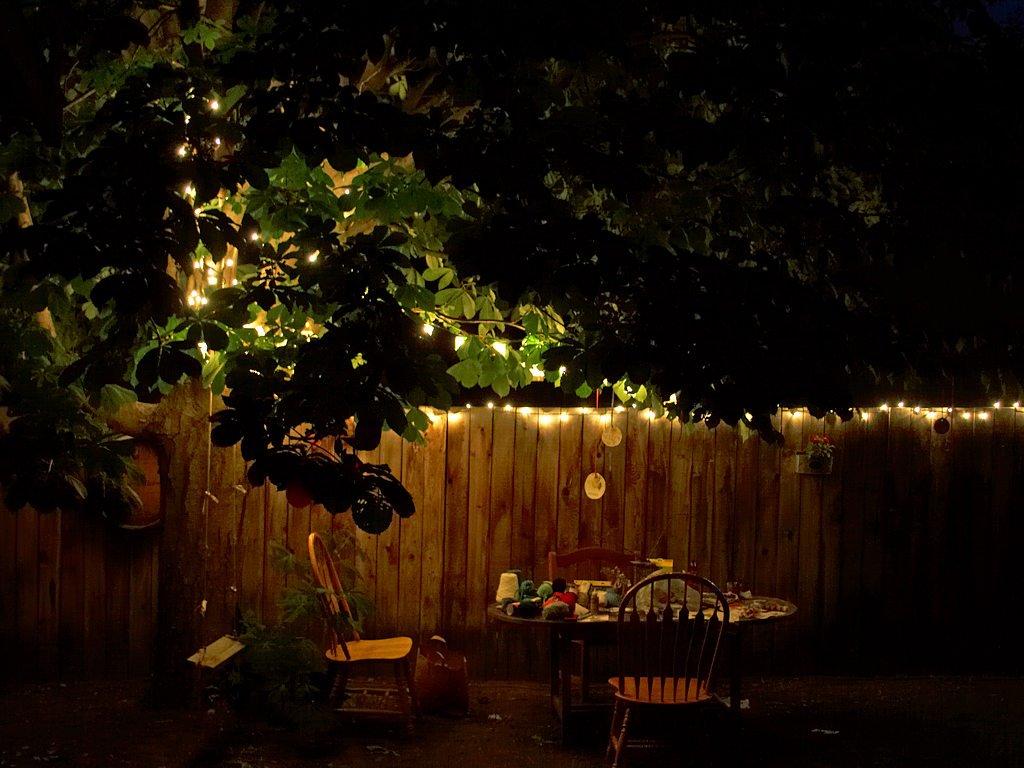 Aften udendørs