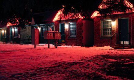Udendørslamper viser vejen i mørket