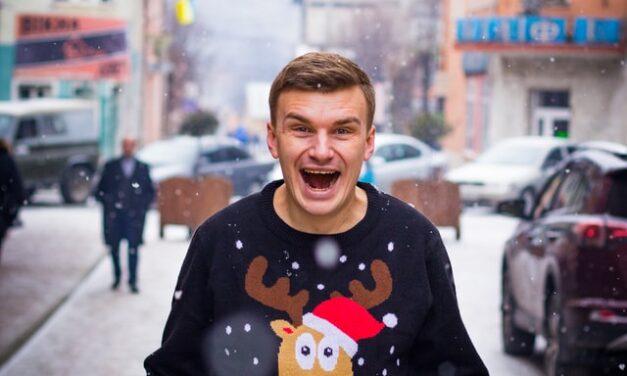 Julesweater til arbejde i haven i julen – Perfekt til det kolde vejr